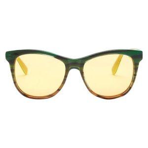 WILDFOX Catfarer Deluxe Square Acetate Sunglasses